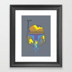 Galactic Decapitations #2 - Bounty Hunter Framed Art Print