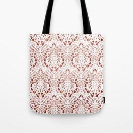 Sanguine Vintage Pattern Tote Bag