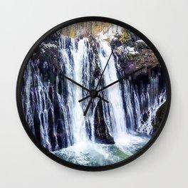 Burney Falls Wall Clock