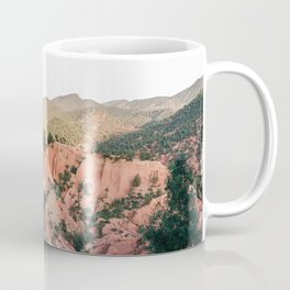 Orange mountains of Ourika Morocco | Atlas Mountains near Marrakech Coffee Mug