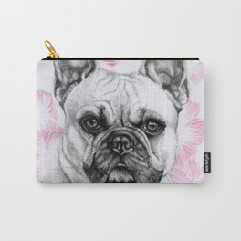 La vie en Frenchie Carry-All Pouch