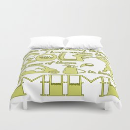 Golf Mimi Duvet Cover
