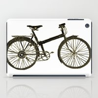 bicycle iPad Cases featuring Bicycle by chyworks