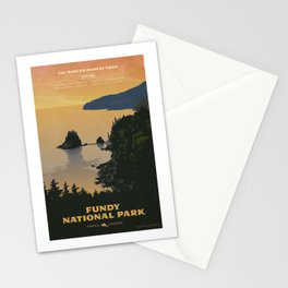 Fundy National Park Stationery Cards