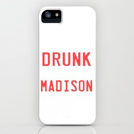 Drinking Team St. Patricks Day Birthday Gift Party Alcohol Celebration Beer Vodka Wine Rum Gin iPhone Case
