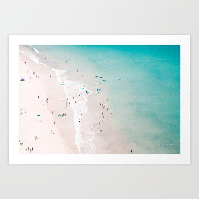 beach - summer love II Kunstdrucke