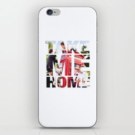 Take Me Home // One Direction iPhone Skin