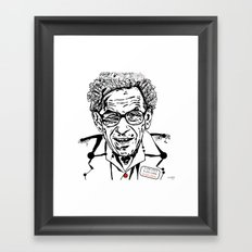 the Erdös Framed Art Print