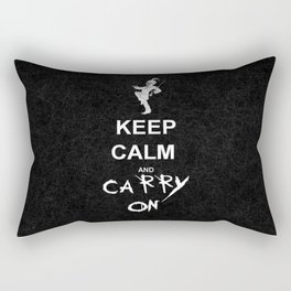 Keep Calm and Carry On: My Chemical Romance Rectangular Pillow
