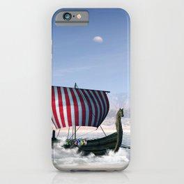 Wonderful longboat, vikking ship iPhone Case