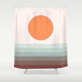 Sunseeker 16 Landscape Shower Curtain