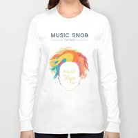 paramore Long Sleeve T-shirts featuring Music to DYE for — Music Snob Tip #075 by Elizabeth Owens