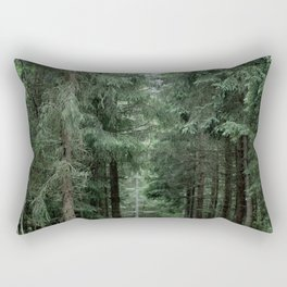 Running Path Rectangular Pillow
