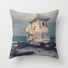 Beach house 2.0 Throw Pillow