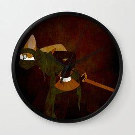 Japanese Bobtail Wall Clock