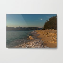Sunrise at Gili Meno Metal Print