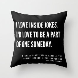 13   |  Office Quote Series  | 190611 Throw Pillow