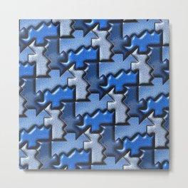 Geometrix 120 Metal Print