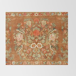 Tabriz Azerbaijan Northwest Persian Rug Print Throw Blanket