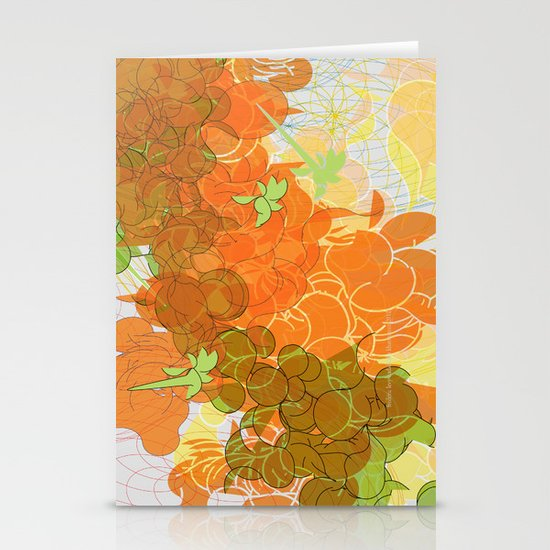 vegetal growth Stationery Cards