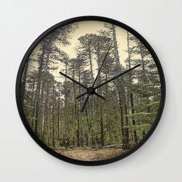 LODGEPOLE PINE Wall Clock