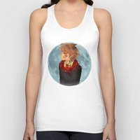 marauders Tank Tops featuring The Marauders - Remus Lupin by ipiouart