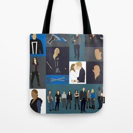 Agents of SHIELD - Minmalist Tote Bag