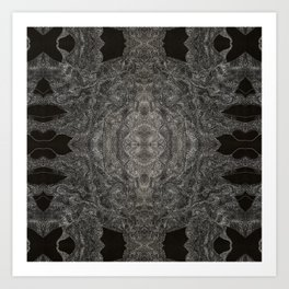 An Ode To You... When Particles Align Multiplied Art Print