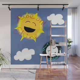 Rise and Shine/Sweet Dreams Wall Mural