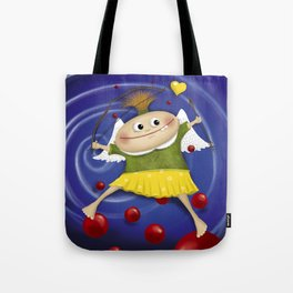My little cupid.. Tote Bag