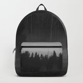 Foggy afternoon Backpack