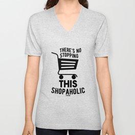 i love shopping Unisex V-Neck