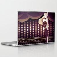burlesque Laptop & iPad Skins featuring Burlesque by ihasb33r