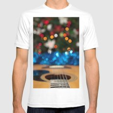 A Sweet Song Mens Fitted Tee MEDIUM White