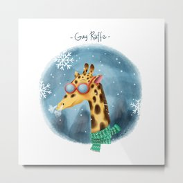 Guy Raffe Metal Print