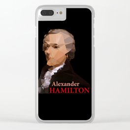Alexander Hamilton, Triangulated Clear iPhone Case