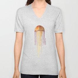 Giant Jellyfish Unisex V-Neck