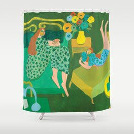 Roomates Shower Curtain