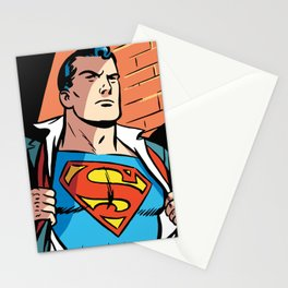 Classic Superman Stationery Cards