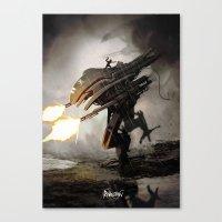 revolution Canvas Prints featuring Revolution! by Abdudavids