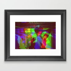 hex2by4 Framed Art Print