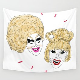 UNHhhh - Trixie and Katya Wall Tapestry