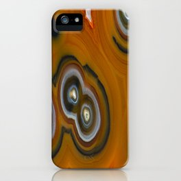 Condor Eye Agate iPhone Case
