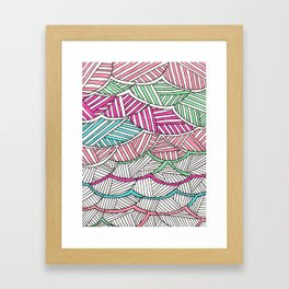 fibers (2) Framed Art Print