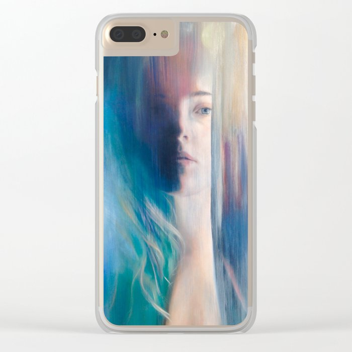 Fading Light Clear iPhone Case