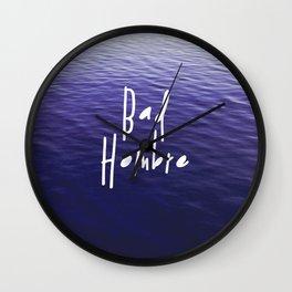 Bad Hombre Wall Clock