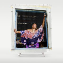 Jamaican Holiday Shower Curtain