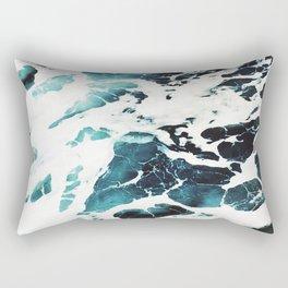 Ecume d'océan Rectangular Pillow