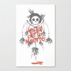 Angel de la Muerte - RED Canvas Print