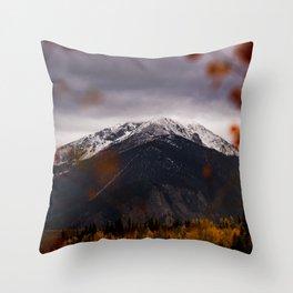 Silverthorne, USA Throw Pillow